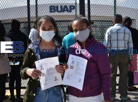 Examen de admisión BUAP en el CCU