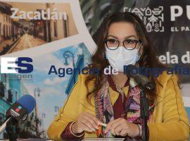 Vanessa Barahona, secretaria de turismo del estado