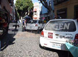 Operativo con vehículos del Ayuntamiento