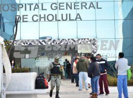 Brigada de vacunación Covid-19 Hospital General de Cholula