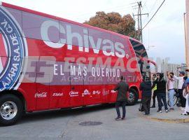 Llegadas al Puebla vs Chivas