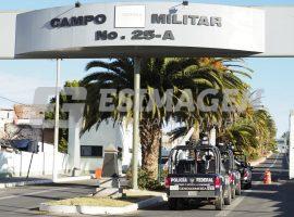 Convoy en 25 Zona Militar