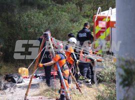 Recuperan cuerpo en Barranca se Bosques de San Sebastián