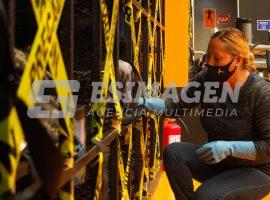 Con medidas de seguridad reabren gimnasios en Puebla
