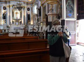 Reapertura de iglesias al 20%