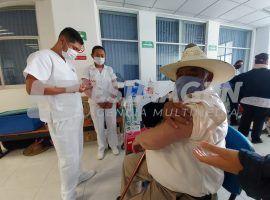 Jornada de vacunación Covid-19 en Acatzingo