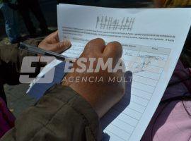 Recolectan firmas para iniciativa de Ley de desaparecidos.