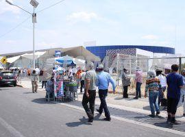 Aplicación de la segunda dosis de la vacuna Covid-19 en San Andrés Cholula