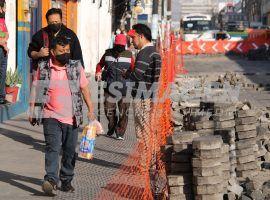 Estado clausura obras del municipio